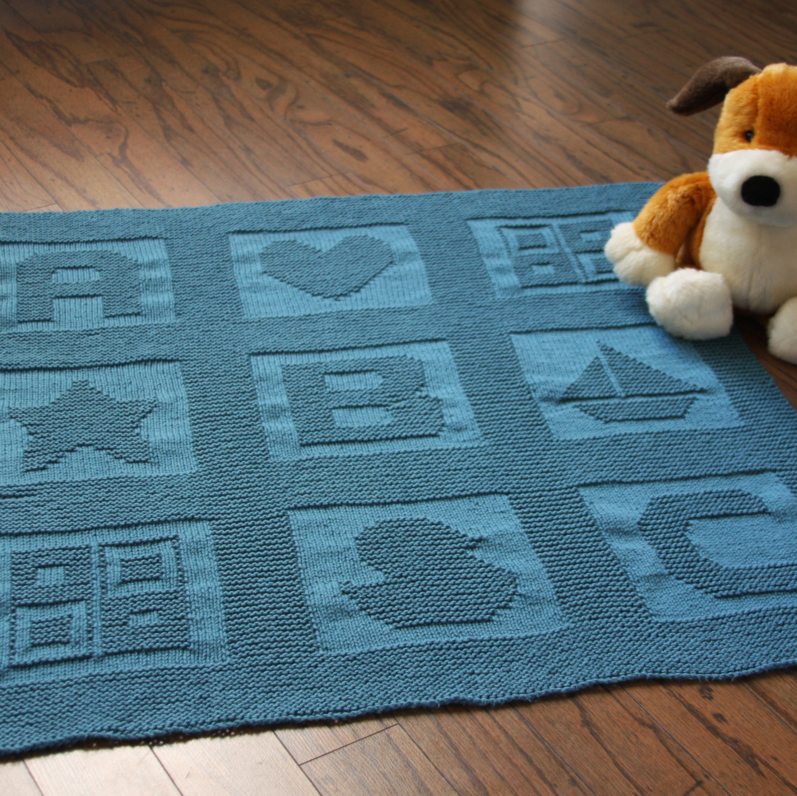 Free Knitting Pattern For Alphabet Blanket : ABC Baby blanket pattern Daydreamer Knits