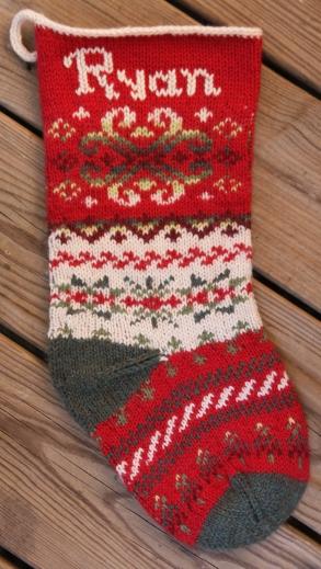 Snowdance Stocking